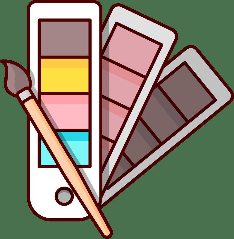 Vi hjälper dig med målning, tapetsering, fönster- och snickerimålning och val av kulörer.